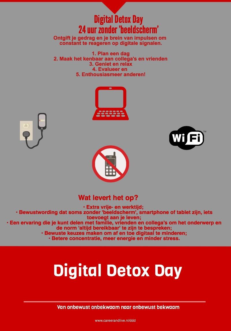 kun jij een dagje zonder smartphone