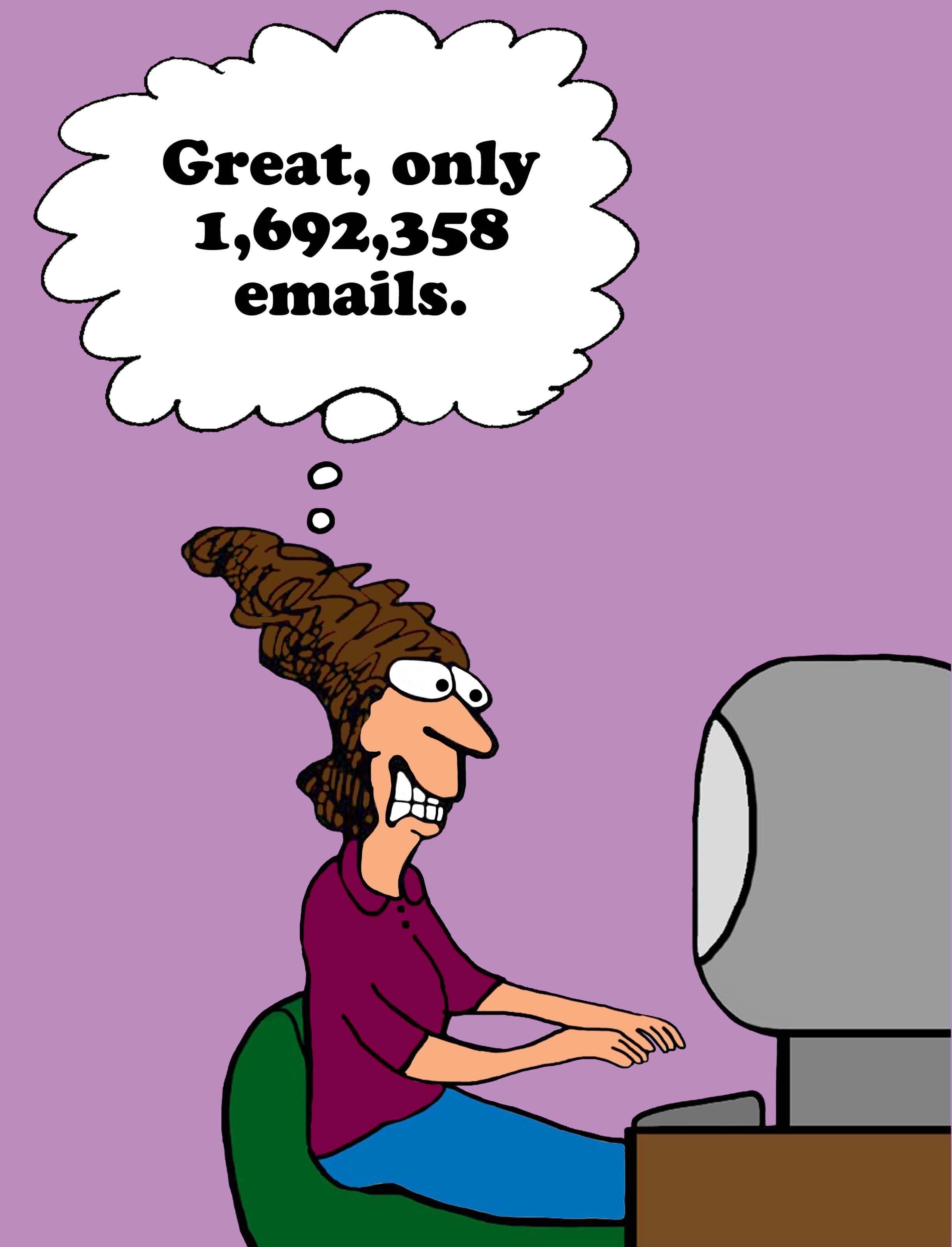 Tem het email monster, minder email?