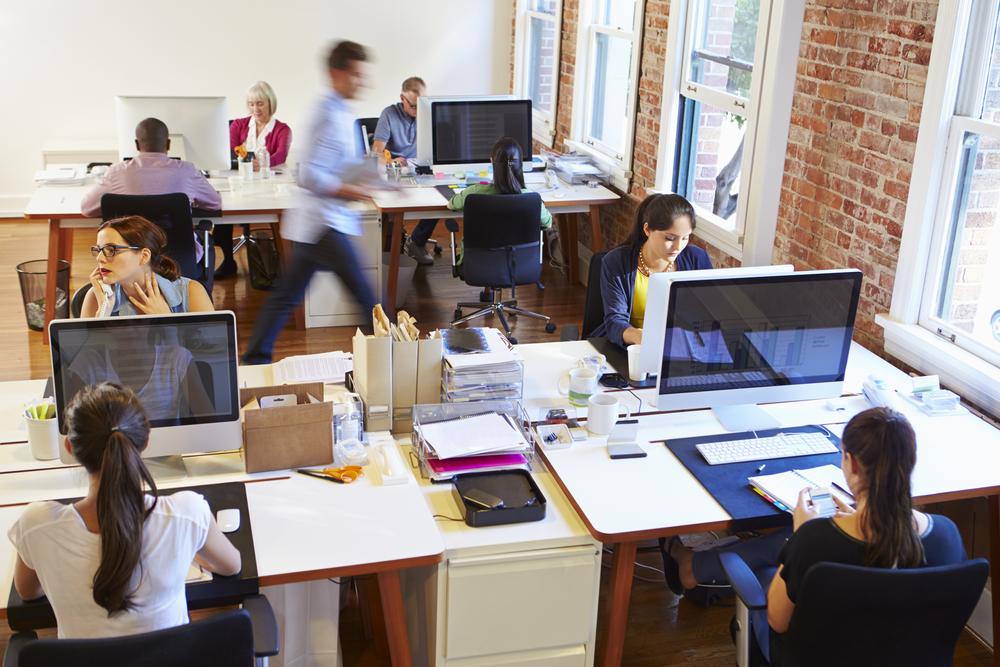 Kantoortuinen zijn slecht voor de productiviteit en gezondheid van medewerkers