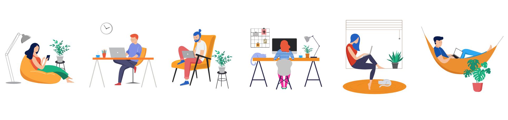 Van 100% thuiswerken naar gedeeltelijk terug naar kantoor. Concrete tips, wat laat je los en wat neem je mee als het weer mag?