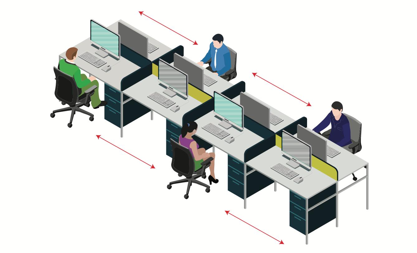Thuiswerken, back-to-the-office en hybride werken